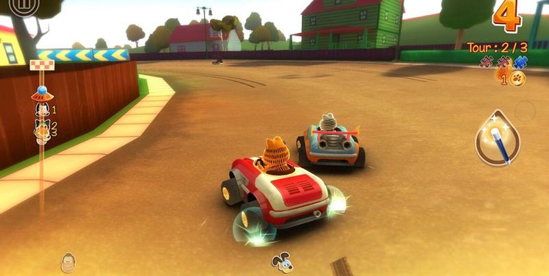 《加菲猫卡丁车》当好游戏遇到坑