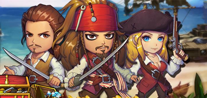 《加勒比海盗OL》无节操试玩解说 快来成就你的海盗梦想吧