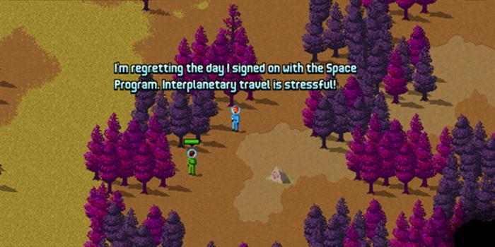 《太空时代》像素风模拟经营类游戏