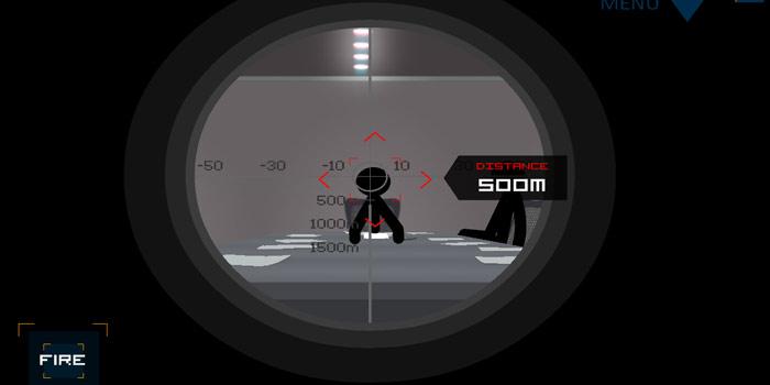 《火柴人狙击手》一款让你能体验到一枪爆头快感的游戏