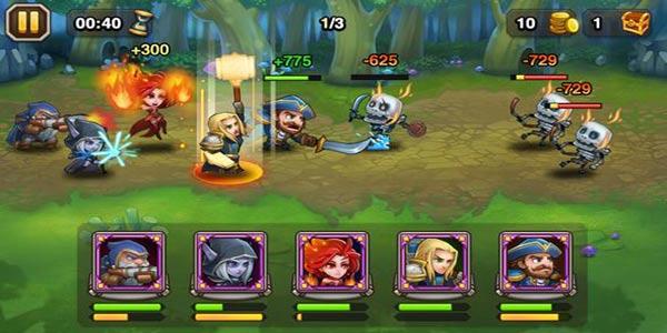 《刀塔传奇》大神85级打败90金色敌法和猴子,跳进来就死