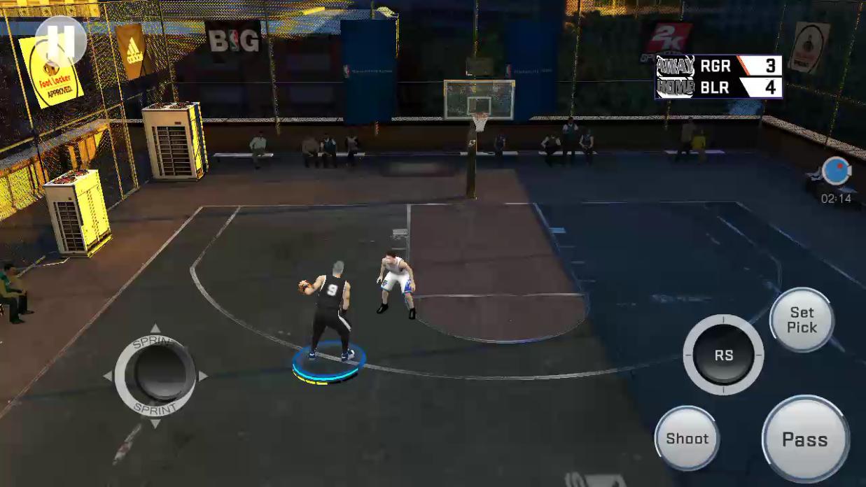 《NBA 2K17》nba