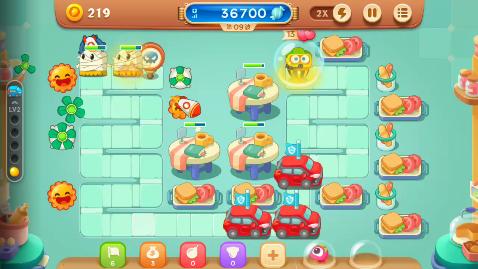 《保卫萝卜3》白灵游戏解说:糖果战